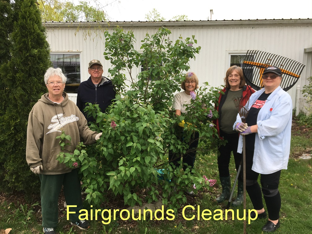 fairgrounds cleanup