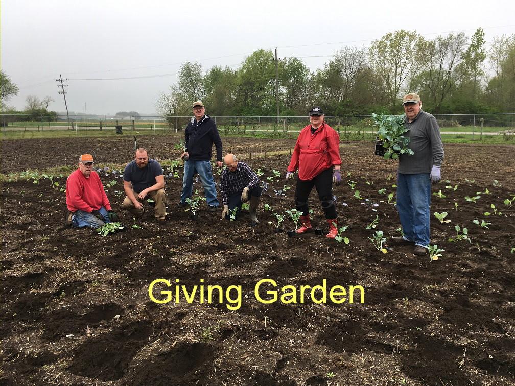 giving garden